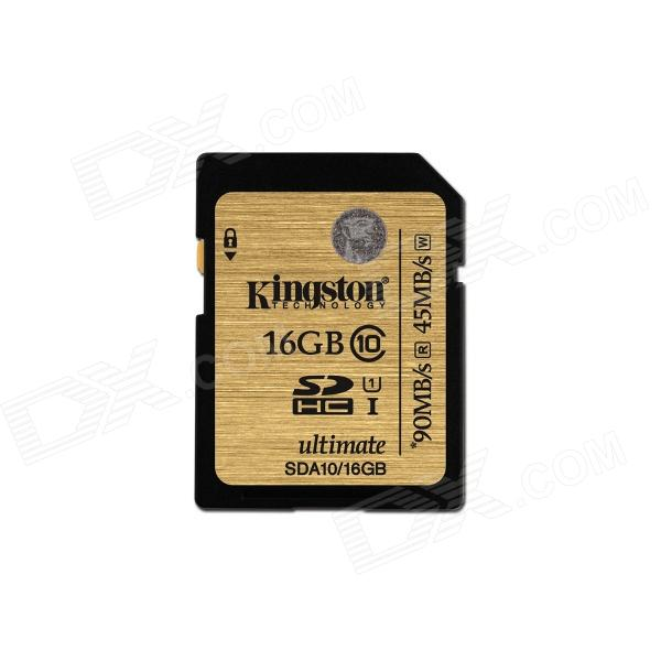 Kingston Ultimate SDHC 16GB UHS-I Class 10 Read:90MB/s SDA10/16GB for sale in Bitcoin, Litecoin, Ethereum, Bitcoin Cash with the best price and Free Shipping on Gipsybee.com