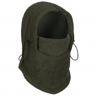 GUZON Outdoor Sports Windproof Warm Polar Fleeces Face Mask / Hat - Army Green (Free Size)