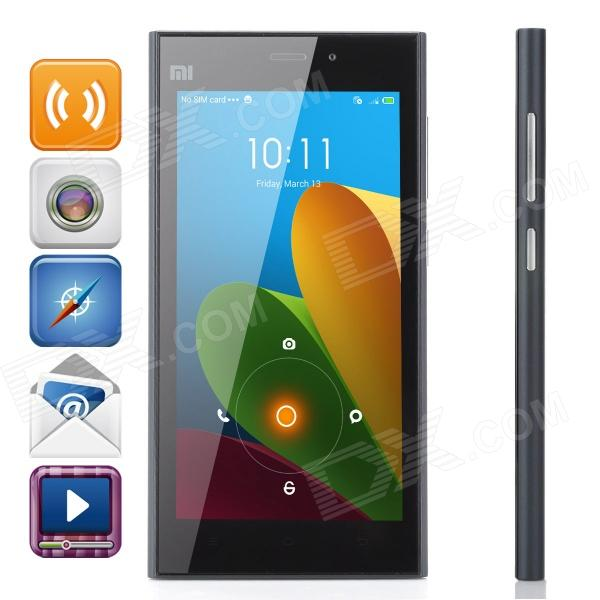 Buy XiaoMi Quad-core Android 4.4 WCDMA Bar Phone with Litecoins with Free Shipping on Gipsybee.com
