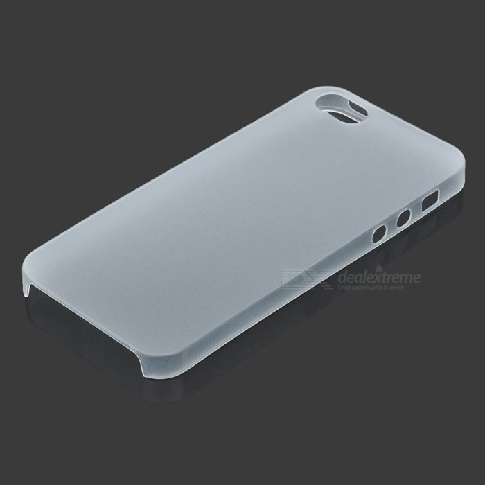 Protective Matte TPU Back Case for IPHONE 5 / 5S - Translucent White