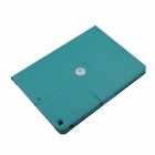 360 Degree Rotation Protective PU Leather Case Cover Stand w/ Auto Sleep for IPAD AIR - Blue