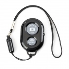 Bluetooth Remote Shutter para Samsung S3 / S4 / S5 / HTC / IPHONE - Negro (1 x CR2032)
