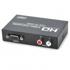 VGAHD101 VGA til 1080P HDMI Video Converter med 3,5 mm Jack - svart