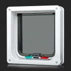 Vier instellen ABS Engineering Plastic Pet's Door - White