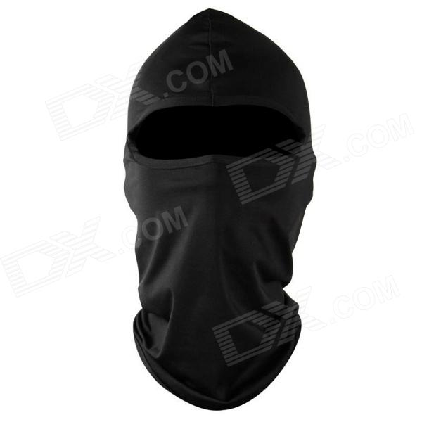 Buy WOLFBIKE BC300 Cycling Lycra Quick-Dry Face Mask Head Guard Shield CS Cap - Black with Litecoins with Free Shipping on Gipsybee.com