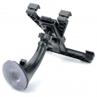 "Universal Car 70mm Trumpet Suction Cup Holder Mount Bracket for IPAD / 7""~10"" Tablet PC - Black"