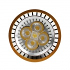 E27 5W 450lm 3000K 6-SMD 5050 LED Warm weiß Licht Golden Edge LED Spot Lampe (85-265V AC)