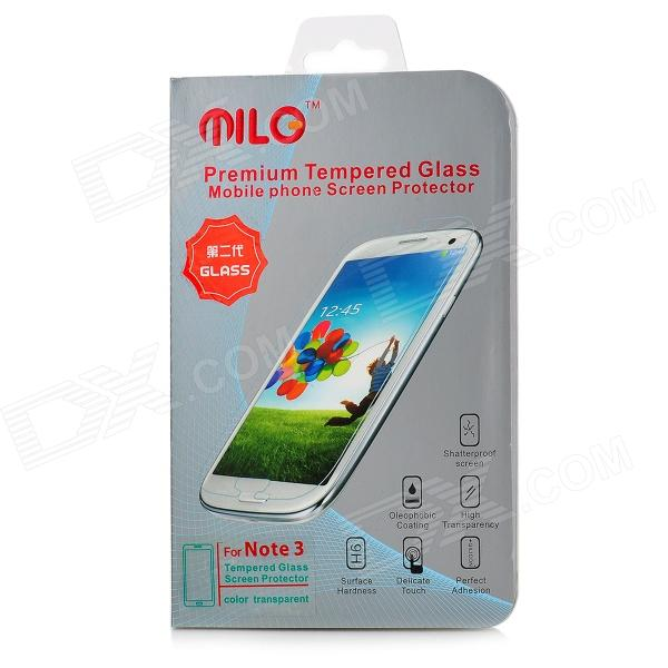 MILO Protective 0.3mm AGC Tempered Glass Screen Guard for Samsung Note 3 - Transparent