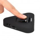 Portable Charging / Data Sync Station w/ OTG Port for Samsung S5 - Black