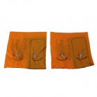Bras Swimming Ring pour enfants - orange + noir (2 PCS)