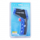 "IR-808 1.4"" LCD Handheld Infrared Thermometer - Black + Blue (1 x 9V)"