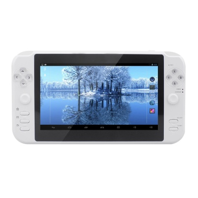 "ESER C702 7"" TFT Android 4.0 Game Console w/ 512MB RAM, 8GB ROM, Wi-Fi, Dual Camera, HDMI - White"