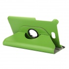 EPGATE Litchee Pattern 360 Degree Rotation PU Leather Case Cover Stand for Dell Venue 8 Pro - Green