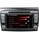 "LsqSTAR 7"" Touch Screen 2-Din Car DVD Player w/ GPS, AM, FM, RDS, Can bus, 6-CDC, AUX for Fiat Bravo"