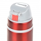 Roswheel 52527 Double Layer Stainless Steel Vacuum Thermos Bottle Flask - Red (500mL)