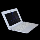 "710F 10.1"" Dual Core Android 4.2 Netbook w/ 8GB ROM, GPS - White"