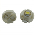 3. T4.2 0.15W 1-SMD 3020 Instrument voiture lumineux LED blanc lampe (12V / 2 PCS)