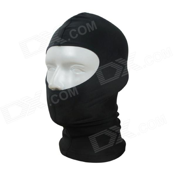 Outdoor Nylon Lycra Swimming Diving Face Mask Cap - Black for sale in Bitcoin, Litecoin, Ethereum, Bitcoin Cash with the best price and Free Shipping on Gipsybee.com