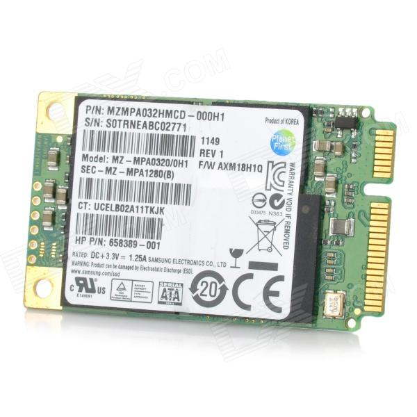 "Samsung 1,8"" mSATA 32GB 2.0 Solid State Disk SSD"