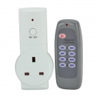 Tai Shen TS-868 UK-Plug Socket + Remote Controller Set for Household Electric Appliances (230V)