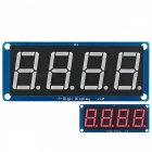 "0.56"" LED 4-Digit Display (D4056A) Module w/Decimal Point for Arduino"