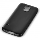 Protective Silicone Back Case Cover for Samsung Galaxy S5 - Black