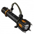 SingFire SF-916 LED 850lm 5-Mode White Flashlight - Black + Golden (1 x 18650)