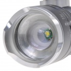 NEW-S01 270lm 3-Mode LED Flashlight - Grey + White (1 x 18650)