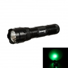 KINFIRE WF502 LED 100lm 3-Mode Green Flashlight - Black (1 x 18650)