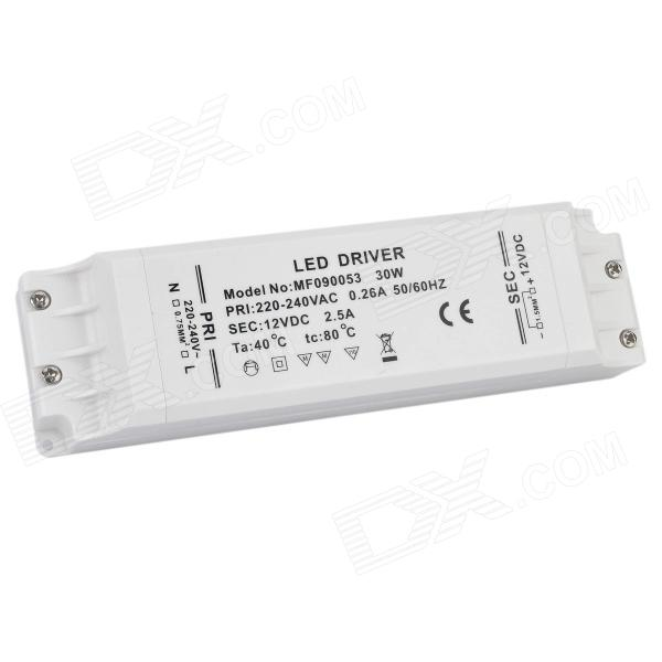 MF090053 30W 10S3P LED Strip Driver Transformer - White (AC 220~240V)