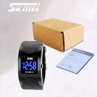 SKMEI 0951 30m Waterproof Arc Digital LED Wrist Watch - Black (2 x CR1616)