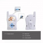 "Timeflys 2.4"" TFT 2.4G Wireless Surveillance Camera / Baby Monitor w/ Temperature Control / 8-IR LED"