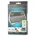 RII RT-MWK28 2.4GHz Air Mouse + tastiera w / 6-Axis Gyro + Chat Audio / Touchpad per TV Box