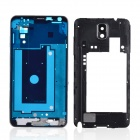 Replacement Front + Medium Plates + Metal Wire Drawing Back Battery Case for Samsung Galaxy Note 3