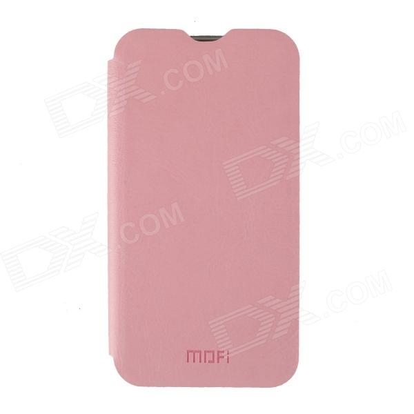 MOFI PR2017 Protective PU Leather Case Cover Stand for xiaomi M2S - Pink