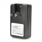 "US spine 0.8"" LCD Battery Charger + 4300mAh Battery Plug Adapter + EU per Samsung Galaxy S5 - Nero"