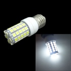 E27 7W 600lm 6000K 59-SMD 5050 LED White Light Corn Lamp (AC 220~240V)