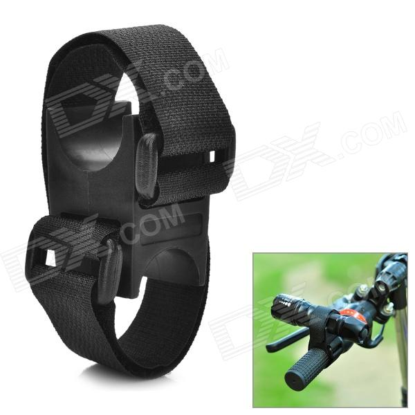 Buy Universal Adjustable Bicycle Mount for Flashlights - Black (2cm~4cm) with Litecoins with Free Shipping on Gipsybee.com