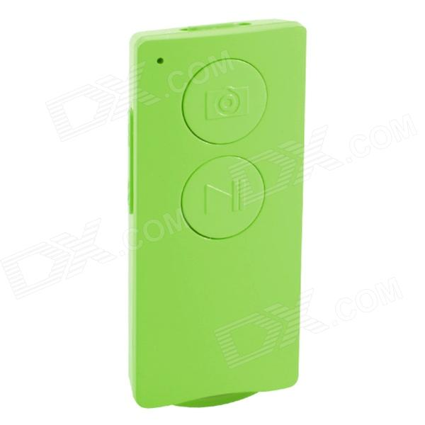 GeekRover i.SELFIE Multifunctional Bluetooth Remote for iOS / Android Smartphone / Tablet - Green