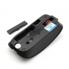 FCN T003 2.4GHz 2000DPI Solar Wireless Optical Mouse w/ Dual-mode Power Supply - Black