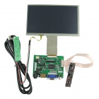 "7"" digitale touch screen + rijden bord voor framboos / pcduino / cubieboard"