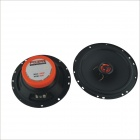 FULAITE FLT-6293 50W 6.5 Inch Coaxial Car Speaker w/ High Pitch - Black (Pair)