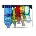 Iarts DX0226-09 Hand-painted Water Bottles Style Oil Painting - Multi-colored (40 x 60)