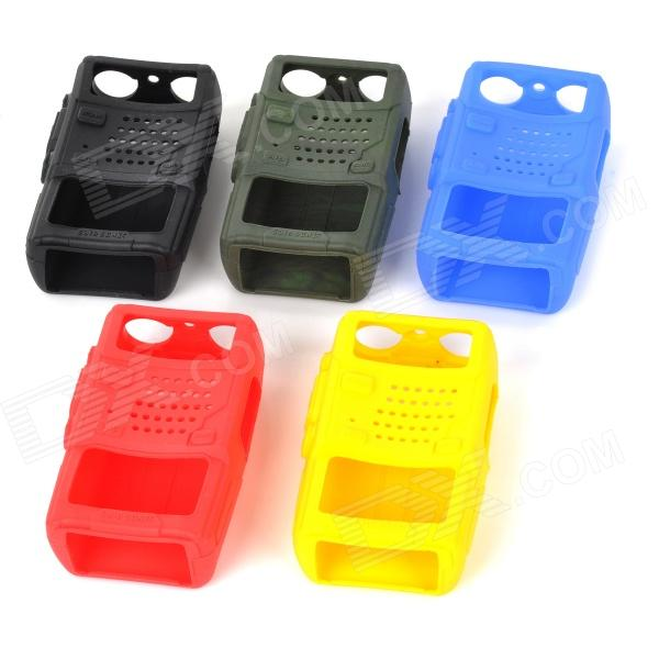 Protective Silicone Case Cover for Interphone Walkie Talkie - Multicolored (5 PCS)