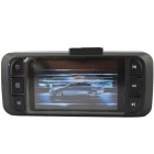 "AT970 2.7"" HD 1080P 3.0MP CMOS Wide Angle Car DVR Camcorder w/ HDMI - Ash Black"