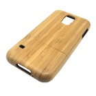 Retro Protective Bamboo Back Case for Samsung Galaxy S5