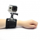 Sport Camera Arm Bands polsband voor Gopro Hero 4 / 3 + / 3 / 2 / 1/SJ4000 - zwart