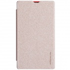 NILLKIN Protective PU Leather + PC Case Cover for Nokia X - Golden