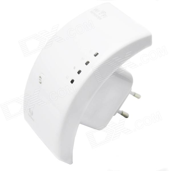 WN518N5-24G-80211abgn-300Mbps-Wireless-Wi-Fi-AP-Repeater-White-(AC-100-240V-EU-Plug)