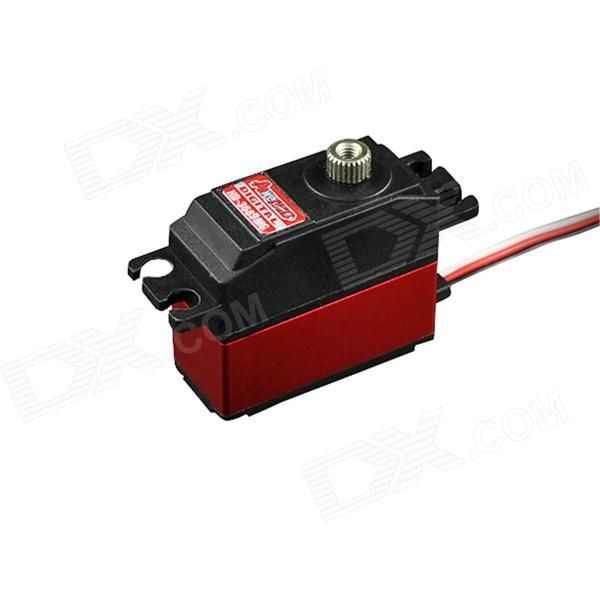 Power HD-3689MG High Speed Servo for 500 Helicopter - Black + Red